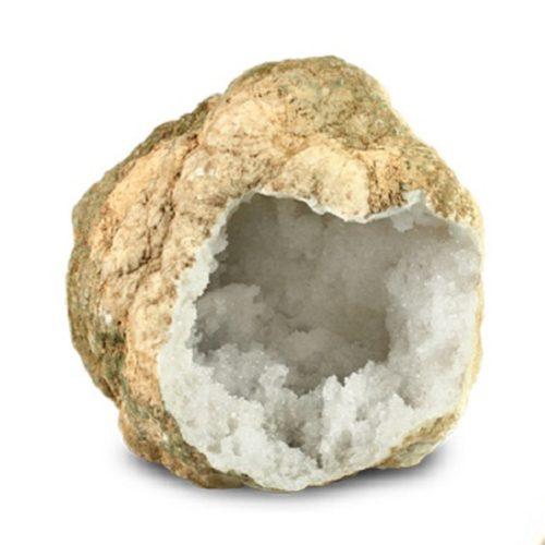 Bergkristal-geoden